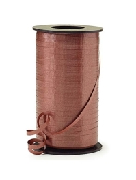"3/16"" Chocolate Brown Curling Ribbon"