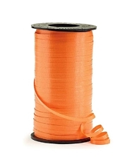 "3/16"" Orange Curling Ribbon"