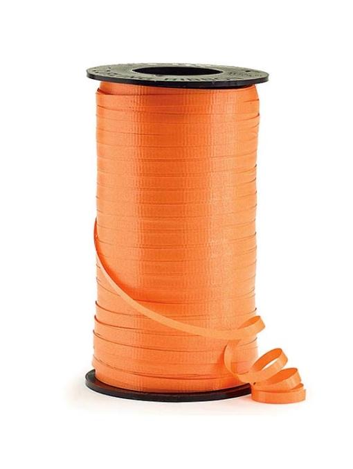"3/16"" Orange Curling Ribbon"