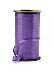 "3/16"" Purple Curling Ribbon"
