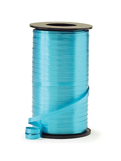 "3/16"" Turquoise Curling Ribbon"