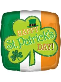 "17"" St. Patrick's Day Sparkle Balloon"