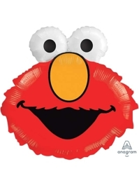 "20"" Elmo Head Shape Sesame Street Balloon"