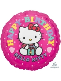 """17"""" Hello Kitty Birthday Balloon"""