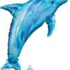"37"" Jewel BLue Dolphin Ocean Balloon"