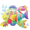"24"" Tropical Fish Cluster Ocean Balloon"