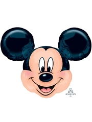 "27"" Mickey Mouse Head Shape Disney Balloon"