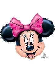 "28"" Minnie Mouse Head Shape Disney Balloon"