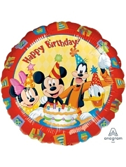 "17"" Mickey & Friends Birthday Disney Balloon"