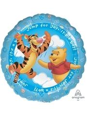"""17"""" Pooh It's A Boy Balloon"""