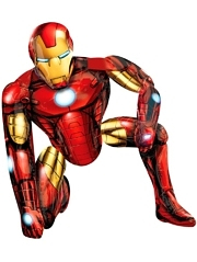 "46"" Iron Man Airwalker Shape Marvel Balloon"