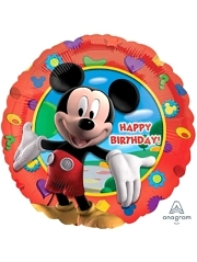 "17"" Mickey's Clubhouse Birthday Disney Balloon"