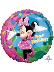 "18"" Minnie Happy Birthday Disney Balloon"