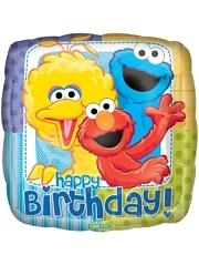 """18"""" Sesame Street Birthday Balloon"""