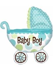 "31"" Baby Buggy Boy Balloon"