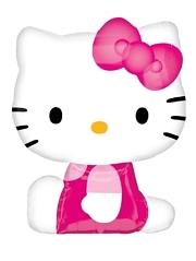 """27"""" Hello Kitty Shape Balloon"""