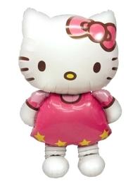 """50"""" Hello Kitty Airwalker Shape Balloon"""