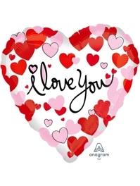 "18"" Hearts Equal Love Balloon"