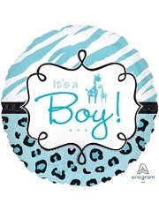 """17"""" Safari Baby Boy Balloon"""