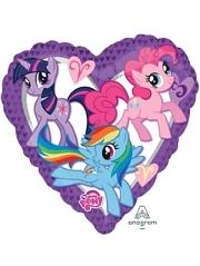 """18"""" My Little Pony Heart Balloon"""