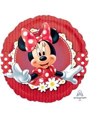 "18"" Mad About Minnie Disney Balloon"