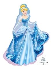 "33"" Cenderella Shape Disney Balloon"