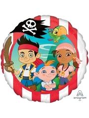 """17"""" Jake Never Land Pirates Disney Balloon"""