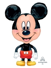 "30"" Mickey Shape Airwalker Disney Balloon"