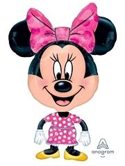 """30"""" Minnie Shape Airwalker Disney Balloon"""