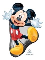 """31"""" Mickey Full Body Shape Disney Balloon"""