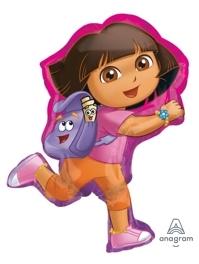 """32"""" Dora Off Exploring Shape Balloon"""