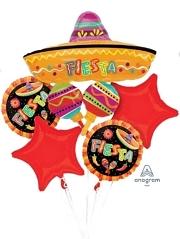 Fiesta Fun Balloon Bouquet Asst.