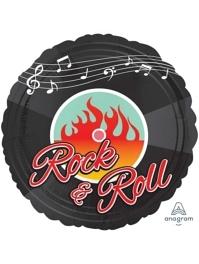 "18"" Rock N Roll Music Balloon"