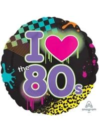 """18"""" Totally 80's Music Balloon"""