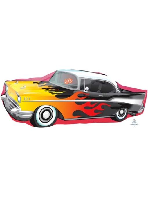 """35"""" 50's Rockin Car Music Balloon"""