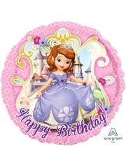 "17"" Sofia The First Birthday Balloon"