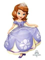 "35"" Sofia The First Shape Disney Balloon"