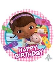 "17"" Doc McStuffins Birthday Disney Balloon"