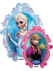 "31"" Frozen Frame Shape Disney Balloon"