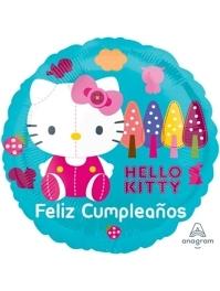 """17"""" Hellow Kitty Feliz Cumpleanos Balloon"""