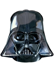 "25"" Darth Vader Helmet Shape Star Wars Balloon"