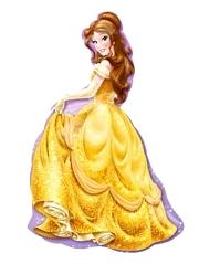 "39"" Princess Belle Shape Disney Balloon"