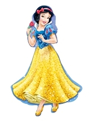 """37"""" Princess Snow White Shape Disney Balloon"""