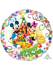 "17"" Mickey & Friends Party Disney Balloon"