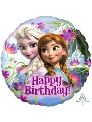 "17"" Frozen Happy Birthday Disney Balloon"