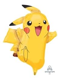 "31"" Pikachu Shape Pokemon Balloon"