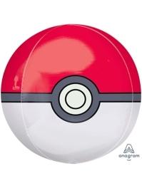 "16"" Pokeball Pokemon Orbz Balloon"