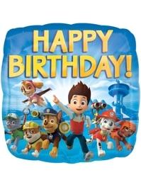 "17"" Paw Patrol Birthday Balloon"
