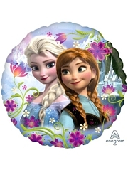 "17"" Frozen Anna & Elsa Disney Balloon"