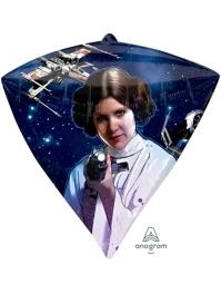 "17"" Star Wars Diamondz Balloon"